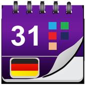 Deutsch Kalender icon