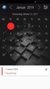 Deutsch Kalender 2018 screenshot 14