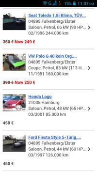 Gebrauchtwagen Deutschland screenshot 4
