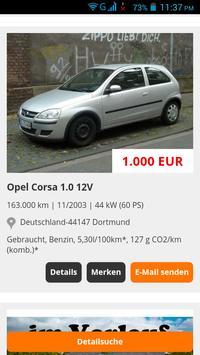 Gebrauchtwagen Deutschland screenshot 5