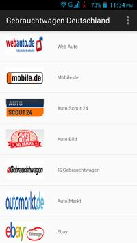 Gebrauchtwagen Deutschland screenshot 7