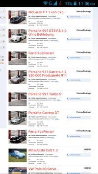 Gebrauchtwagen Deutschland apk screenshot
