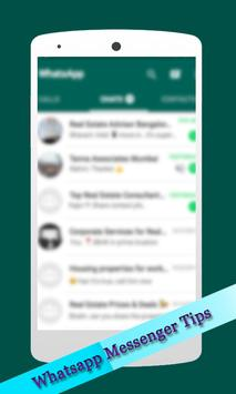 Latest Whatsapp Messenger Tips poster