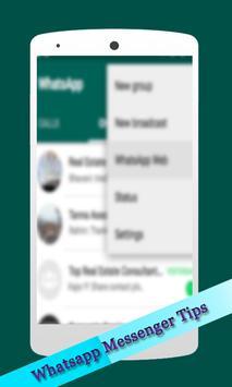 Latest Whatsapp Messenger Tips screenshot 1
