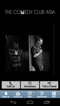 The Comedy Club SG poster
