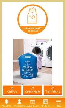 24hr Laundry poster