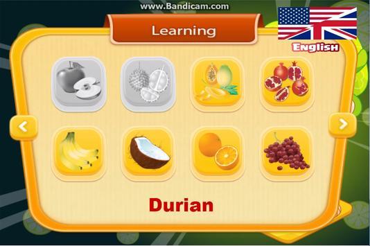 Learn Vocabulary Fruits screenshot 6