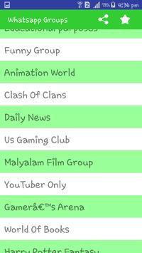 Groups for Whatsapp apk screenshot