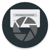 Mobile recharge card reader icon