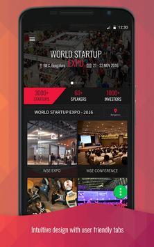 World Startup Expo ( WSE ) apk screenshot