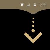 Drop Down Status Bar icon