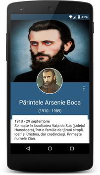 Părintele Arsenie apk screenshot