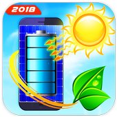 Solar Battery Charger - Battery Saver Prank icon