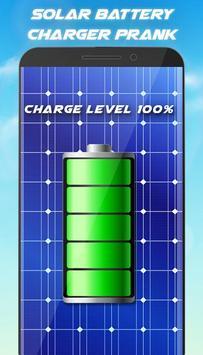 Solar Battery Charger - Battery Saver Prank screenshot 2