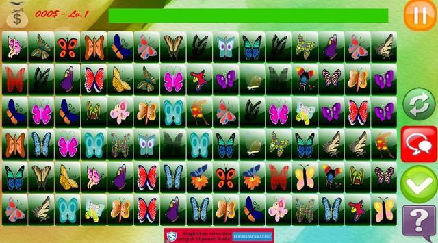 Butterfly Match Game apk screenshot