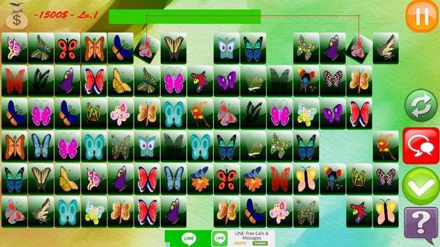 Butterfly Match Game screenshot 1