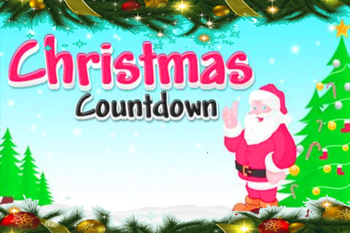 how many days till Christmas poster ...