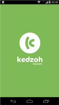 Kedzoh mobile learning poster