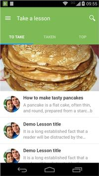 Kedzoh mobile learning apk screenshot
