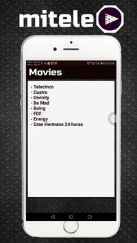 Mitele - TV a la carta - Tips 2018 screenshot 1