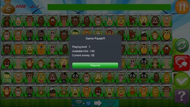Monkey Link Match Game screenshot 4