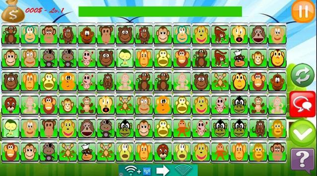 Monkey Link Match Game screenshot 9
