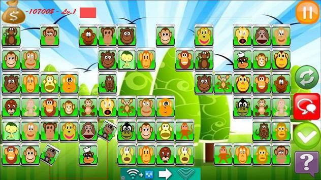 Monkey Link Match Game screenshot 2