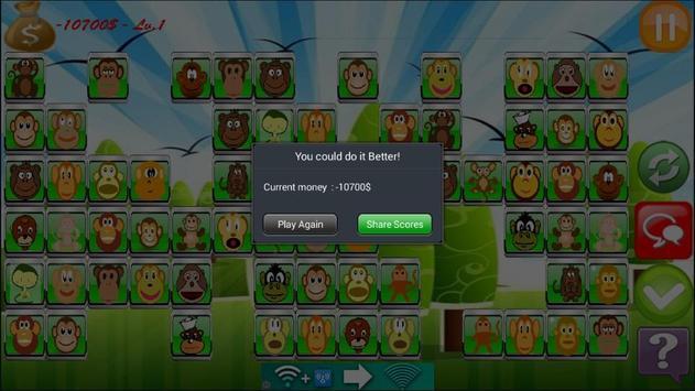 Monkey Link Match Game screenshot 3