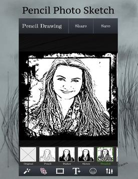 Pencil Sketch - photo éditor apk screenshot