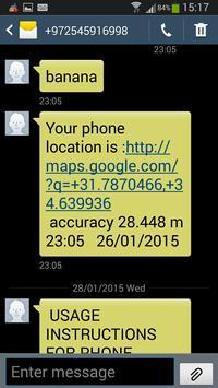 SMS GPS Phone Finder apk screenshot