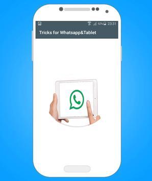 Tricks for Whatsapp : Tablet screenshot 4