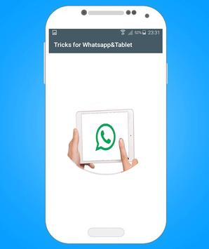 Tricks for Whatsapp : Tablet screenshot 9