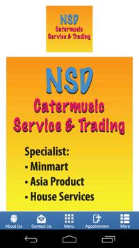 NSD Catermusic Service poster