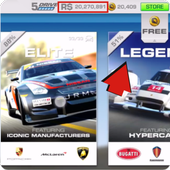 Cheat Real Racing 3 Full Serie icon