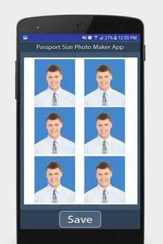 護照尺寸照片製作應用程序 截圖 5