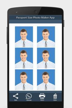 護照尺寸照片製作應用程序 截圖 6