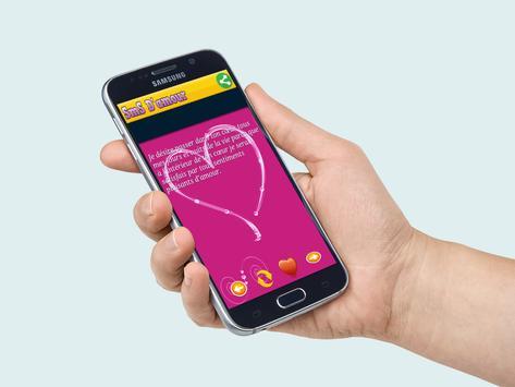 SMS d'amour 2016 apk screenshot