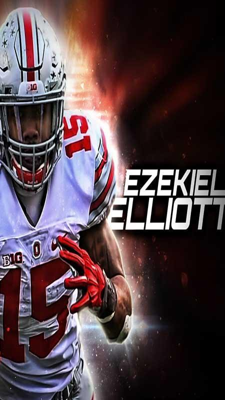 Nfl 2018 Ezekiel Elliott Wallpaper Hd For Android Apk Download