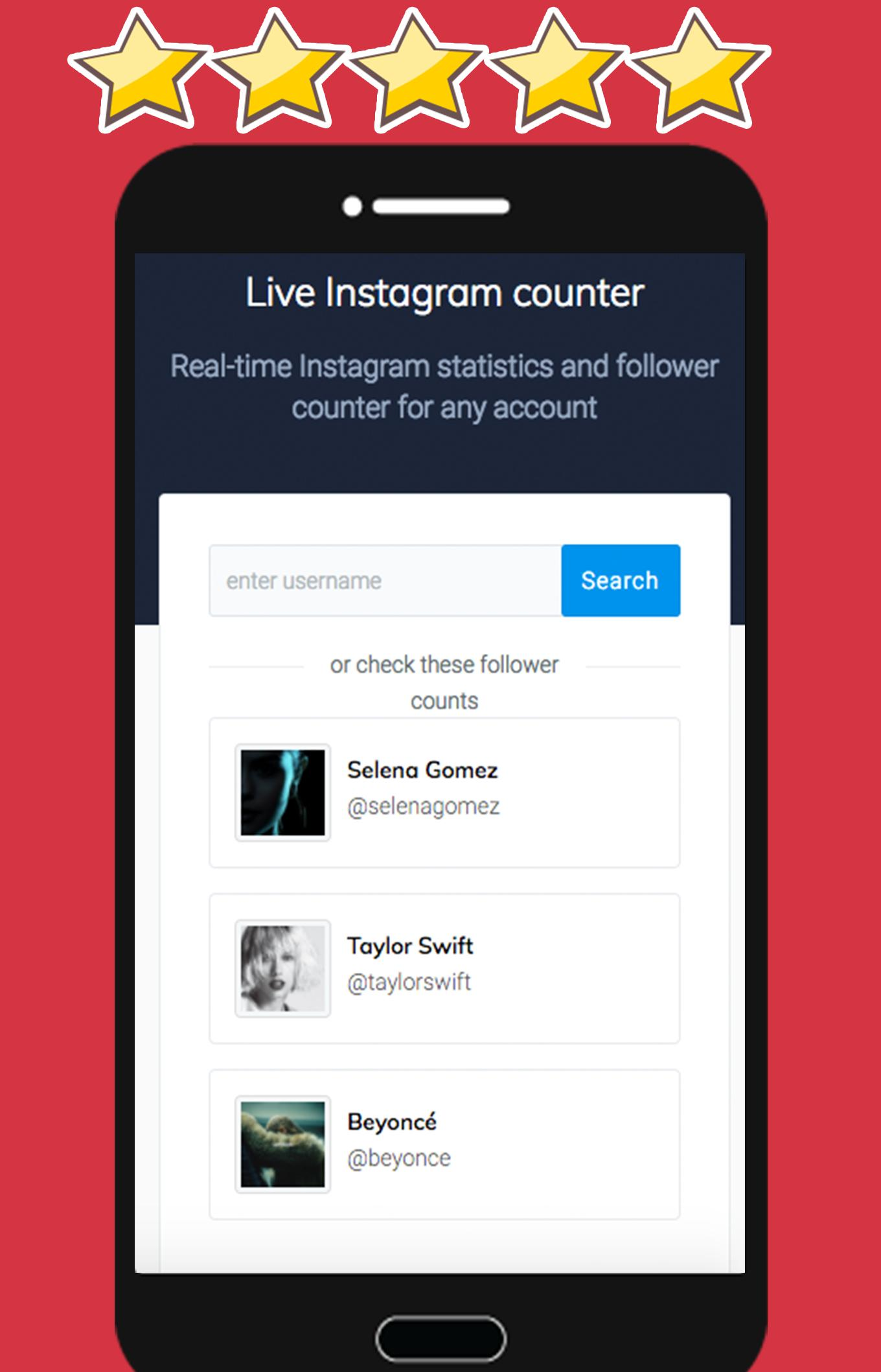 Live Instagram Followers Count for Android - APK Download