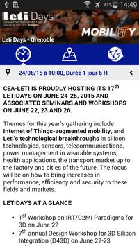 CEA-Leti apk screenshot