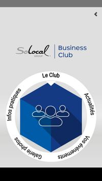 SoLocal Business Club poster