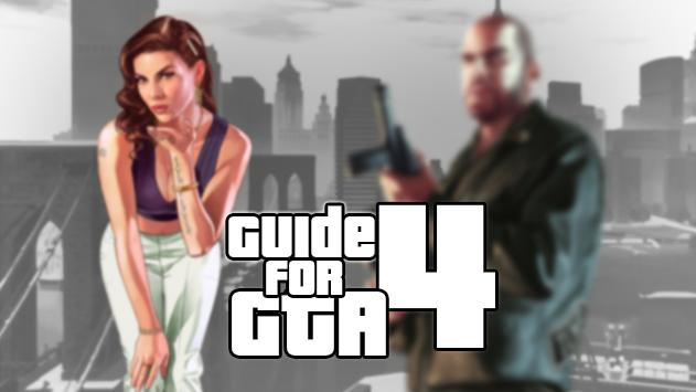 Guide for NEW GTA 4 poster