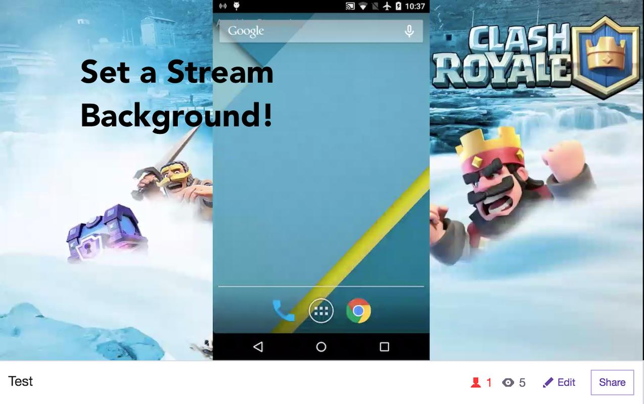 how to create a live streaming app