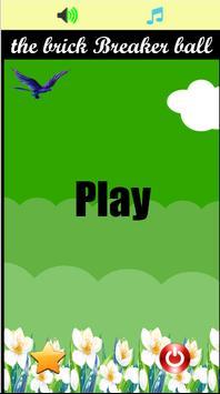 the Brick Breaker ball game poster