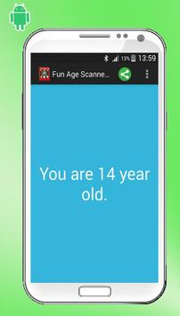 Fun Age Scanner Detector prank apk screenshot