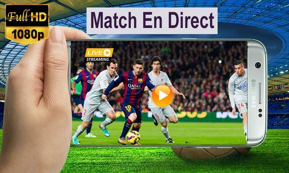 match en direct poster