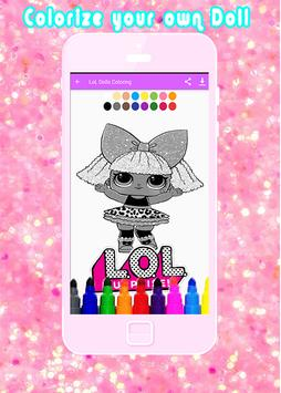 LoL Surprising Coloring Doll poster
