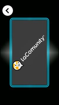 Scrum poker laComunity poster
