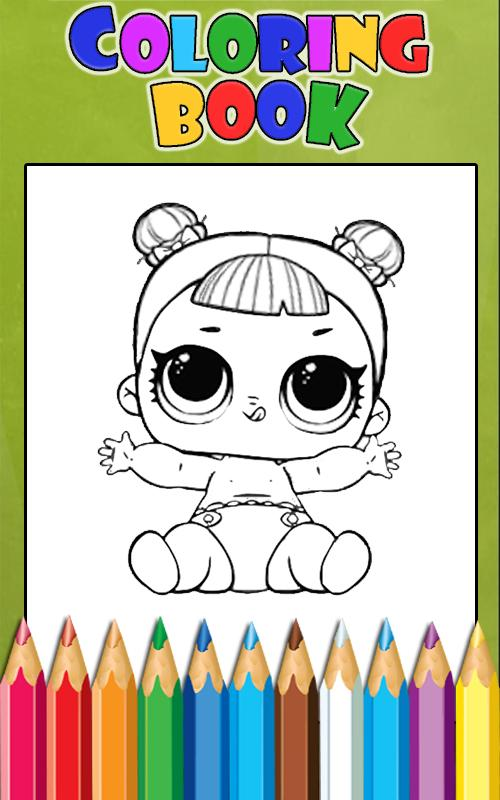 How To Color Lol Surprise Doll Lol Ball Pop 1 For Android Apk