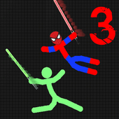 stickman Warriors 3 Epic Fight icon